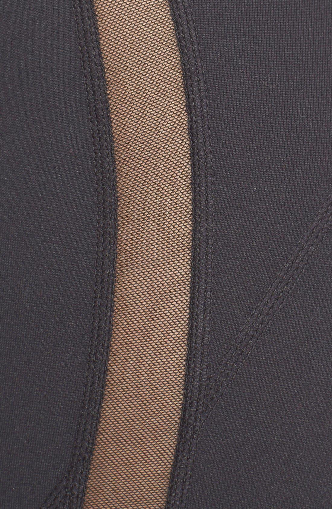 Alternate Image 5  - Zella Sheer to Here High Waist Leggings