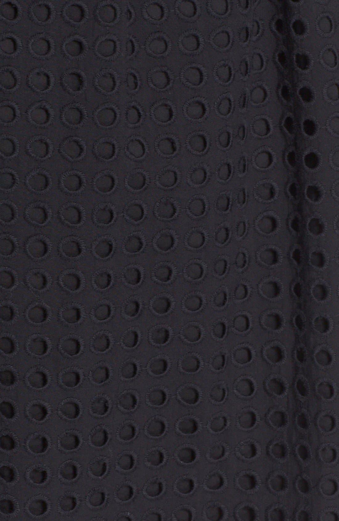 Alternate Image 5  - kate spade new york 'blaire' eyelet miniskirt