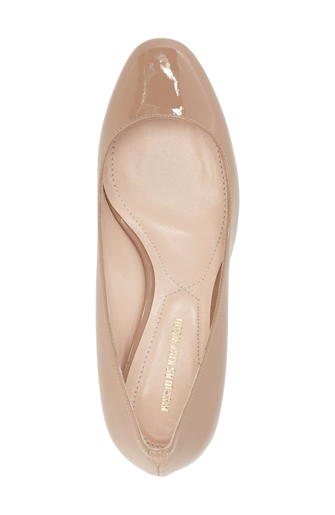 Alternate Image 6  - Nicholas Kirkwood 'Briona' Round Toe Pump (Women)