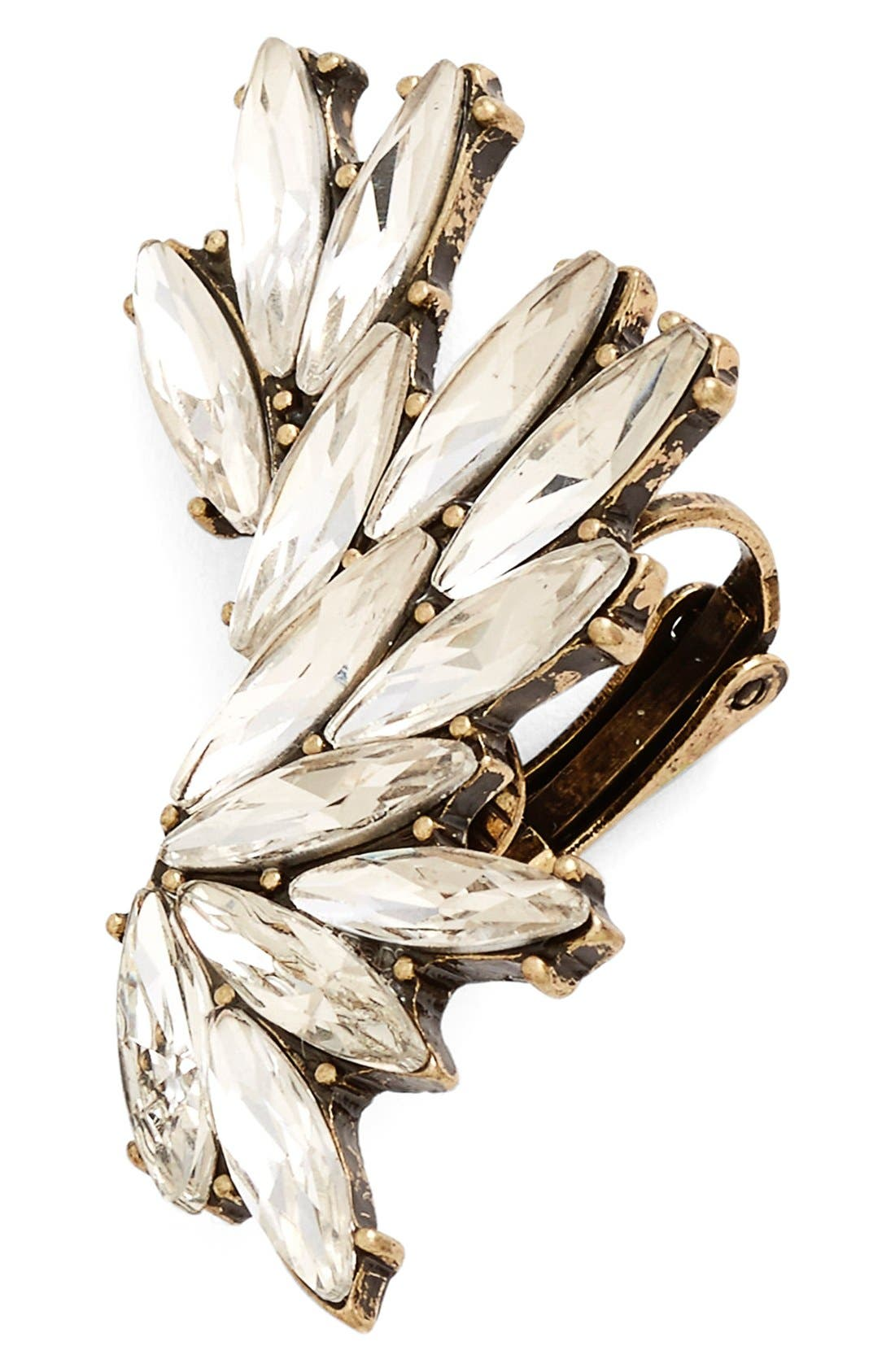 Alternate Image 1 Selected - BP. Oversize Crystal Ear Cuff