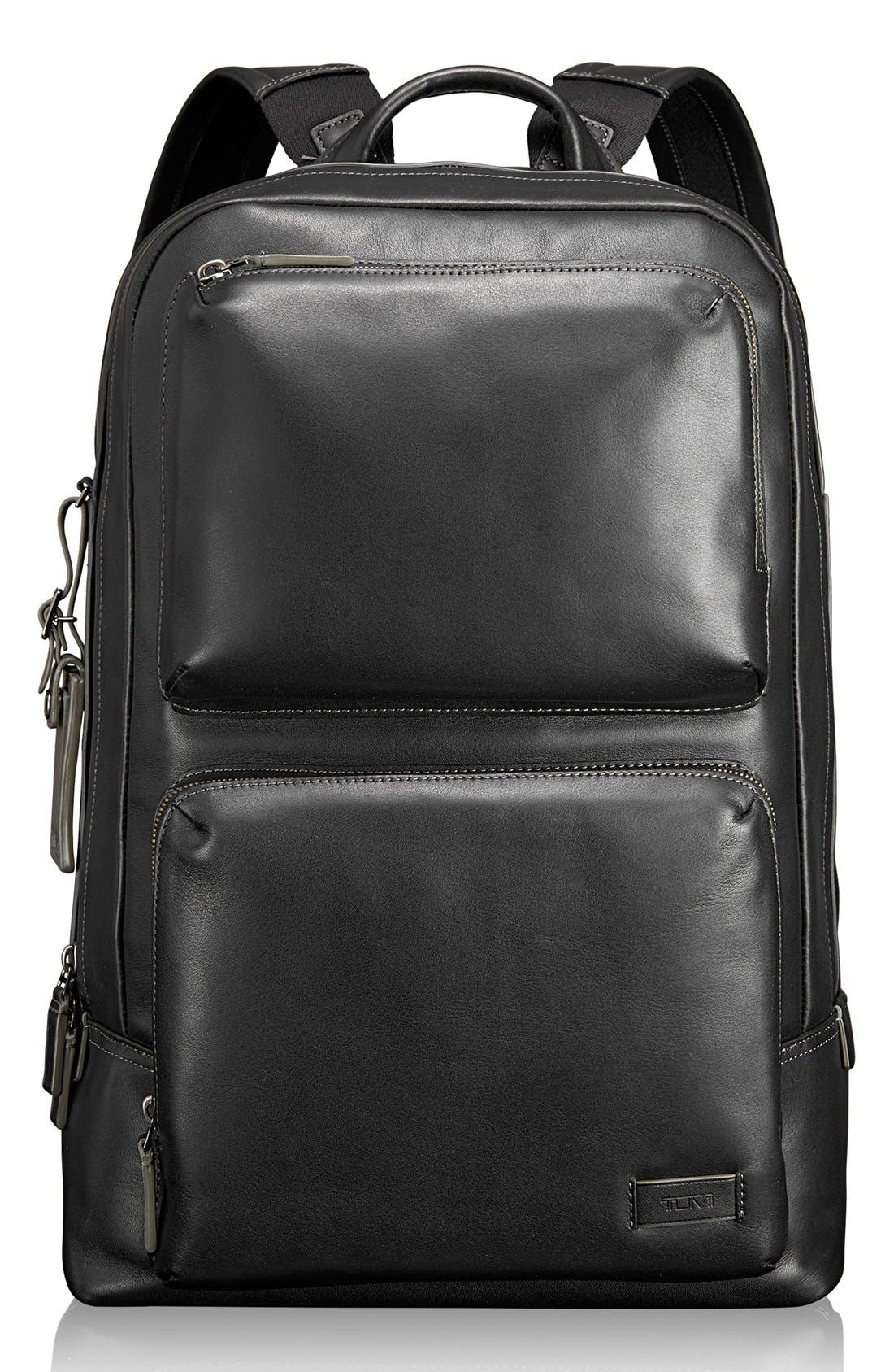 TUMI 'Harrison - Bates' Leather Backpack