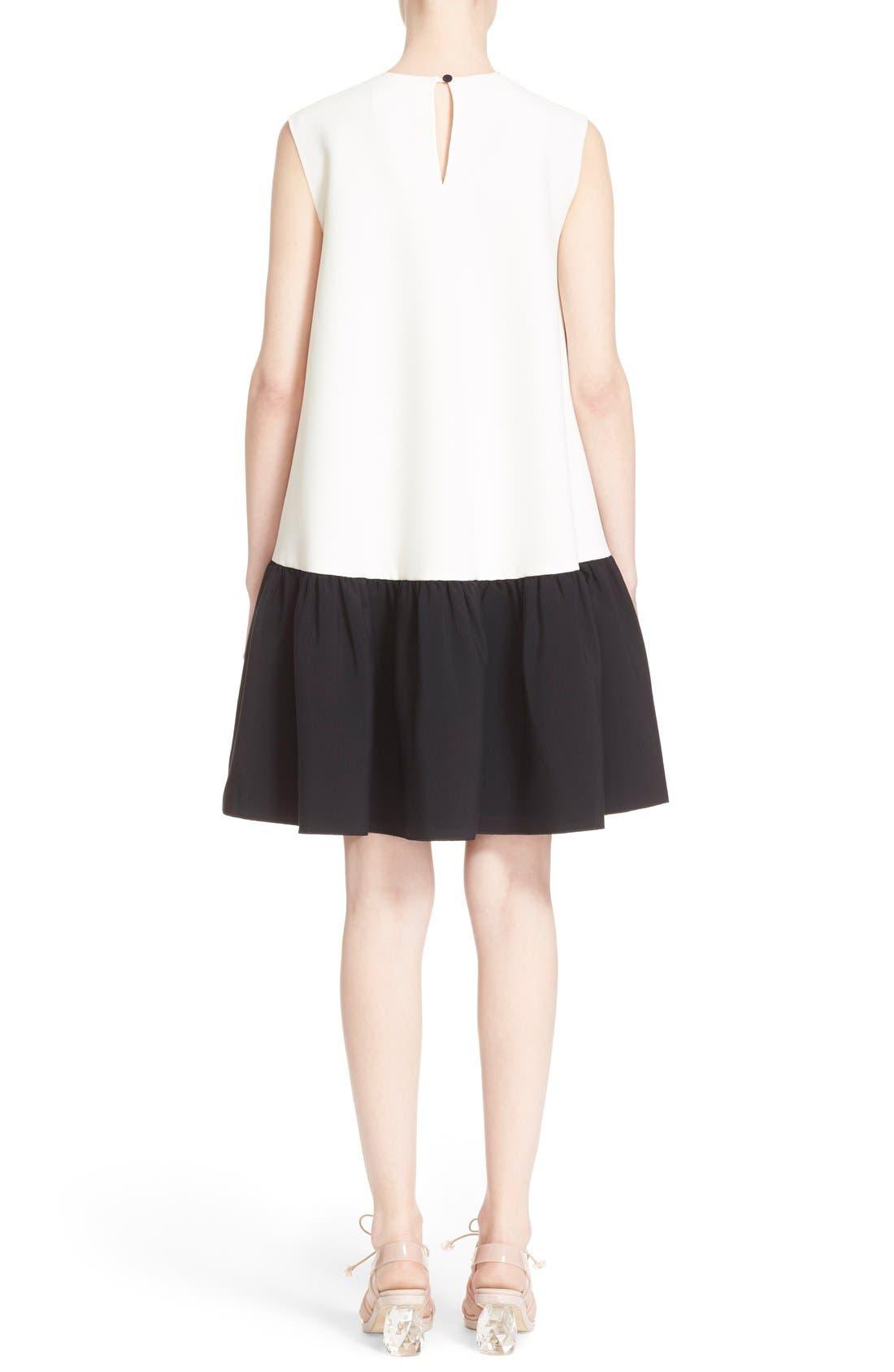 Alternate Image 2  - Roksanda 'Fuji' Colorblock Ruffle Hem Trapeze Dress