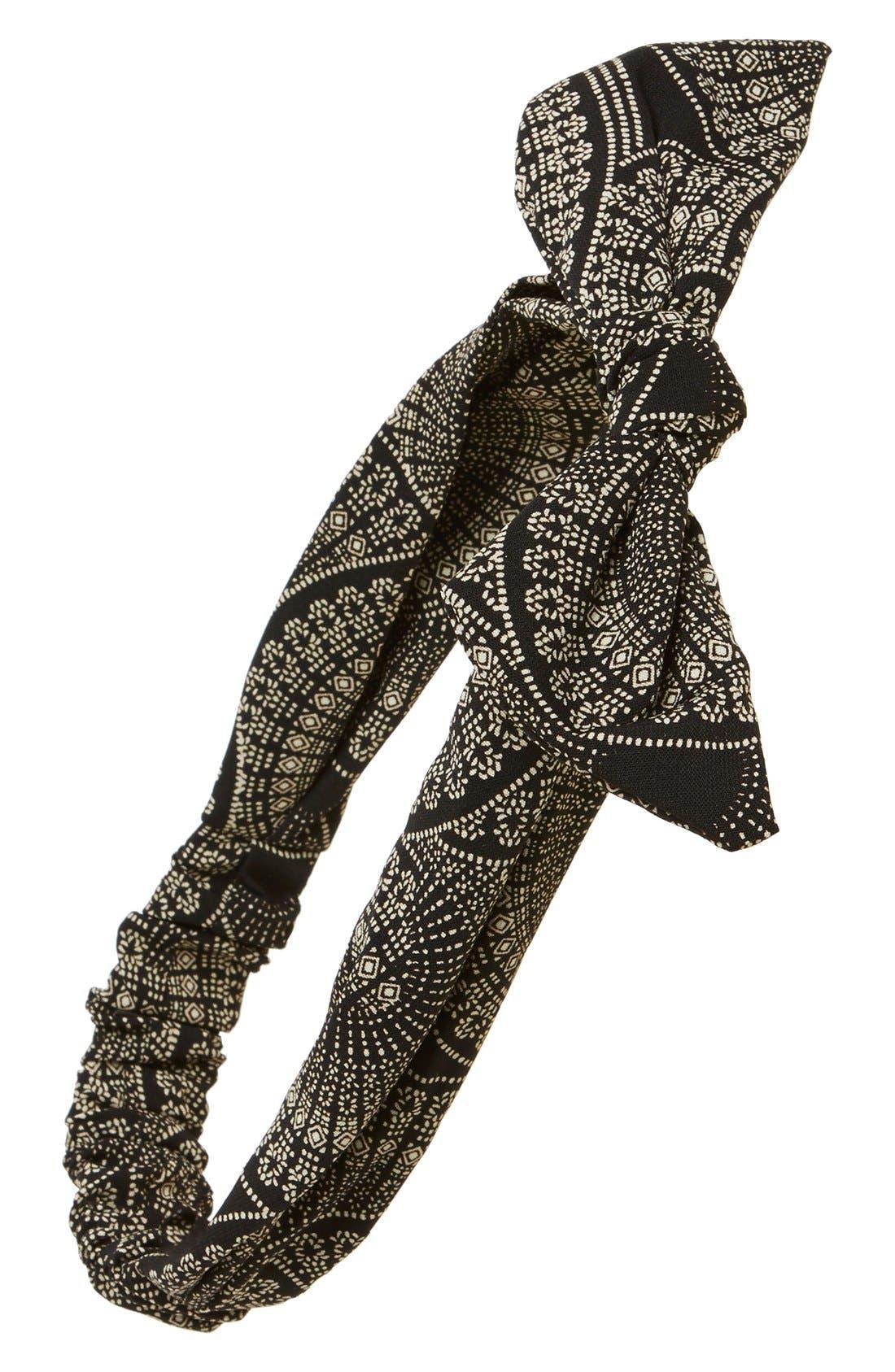 Alternate Image 1 Selected - Cara 'Bandana Bow' Head Wrap