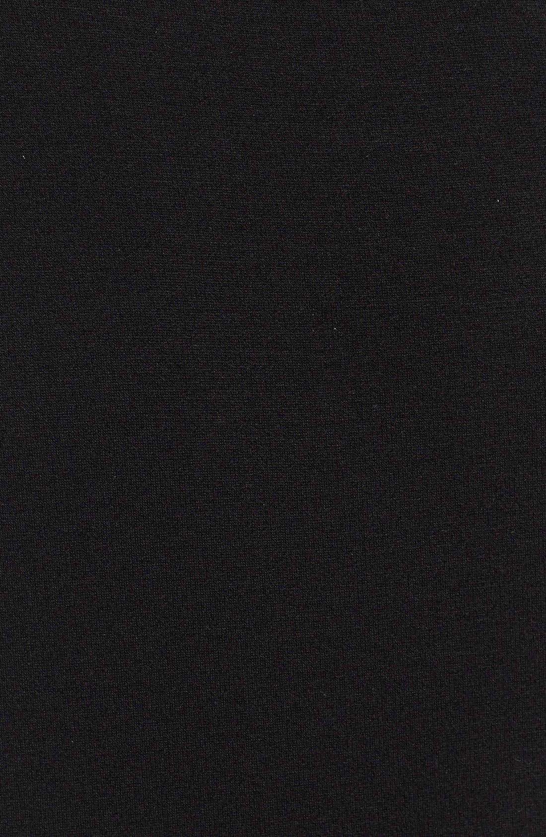 Alternate Image 5  - Eileen Fisher Tencel® Jersey High Collar Jacket (Regular & Petite)