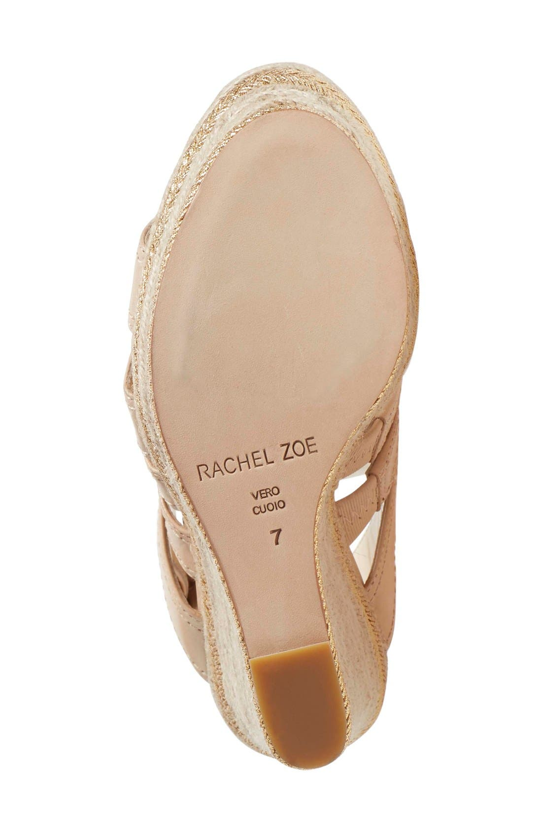 Alternate Image 4  - Rachel Zoe 'Gia' Sandal (Women)
