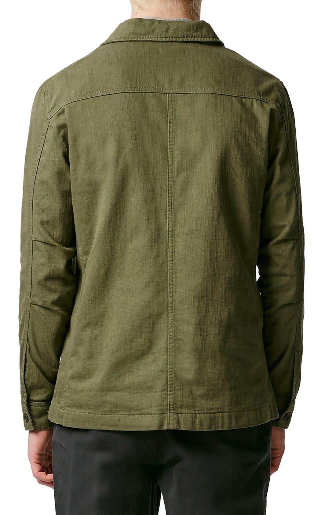 Alternate Image 2  - Topman M-65 Field Jacket