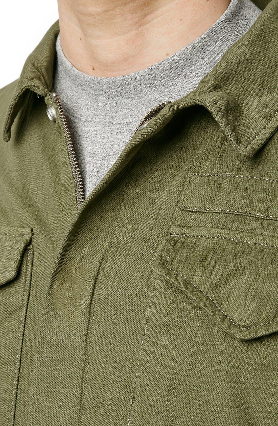 Alternate Image 3  - Topman M-65 Field Jacket