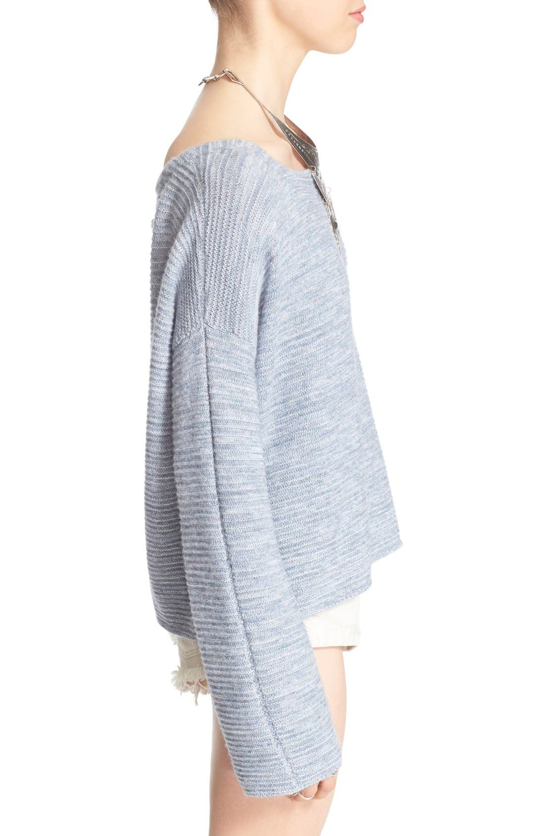 Alternate Image 3  - Free People 'Ever Cozy' Alpaca & Cotton Pullover