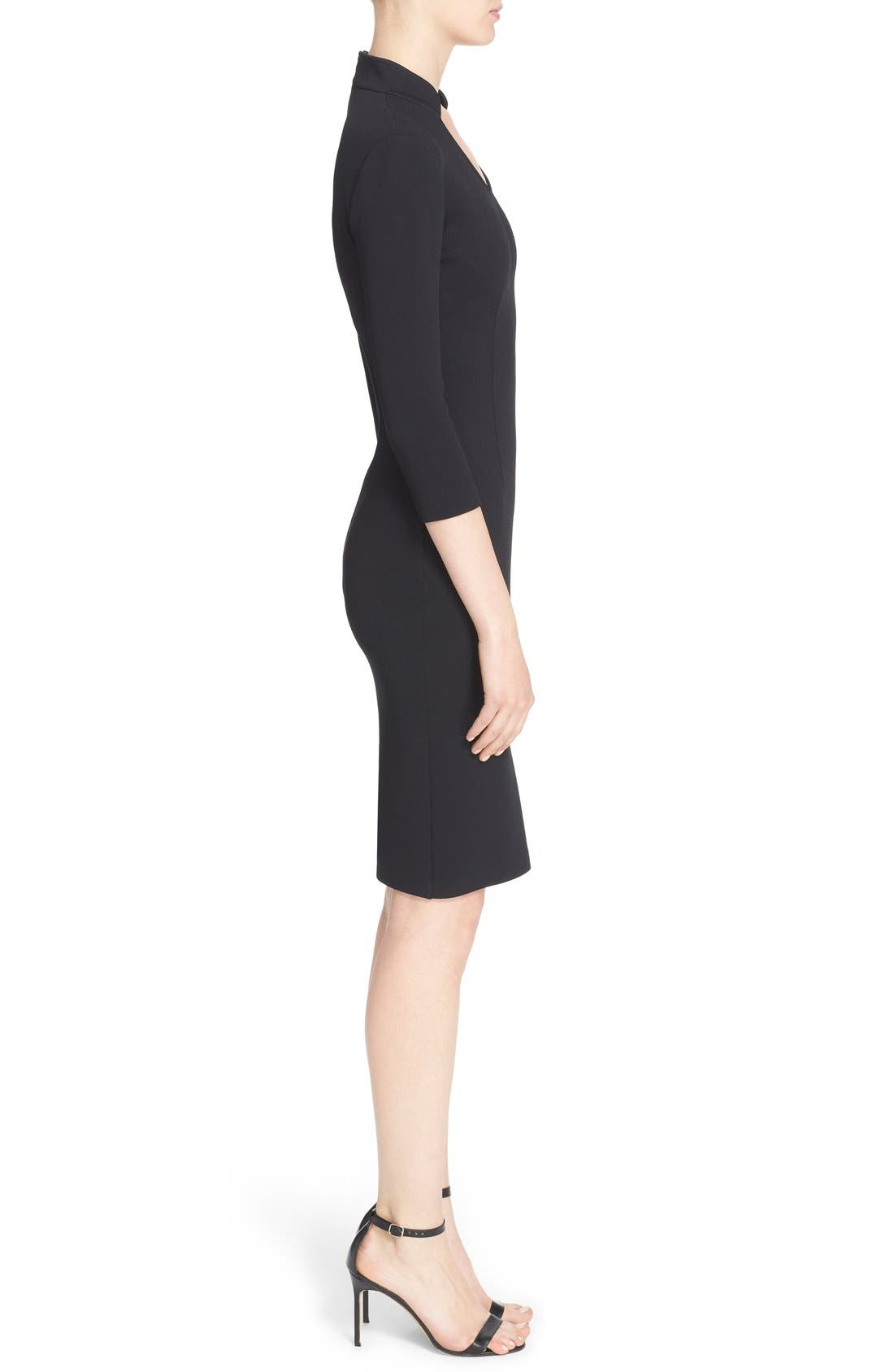 Alternate Image 5  - St. John Collection Luxe Sculpture Knit Sheath Dress