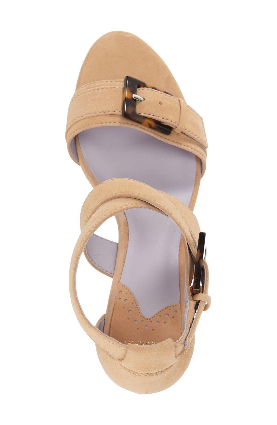 Alternate Image 3  - Johnston & Murphy 'Katarina' Block Heel Sandal (Women)
