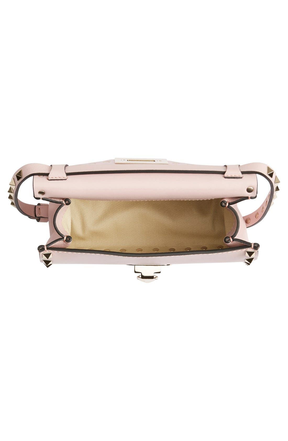 Alternate Image 4  - Valentino 'Mini Rockstud' Crossbody Bag