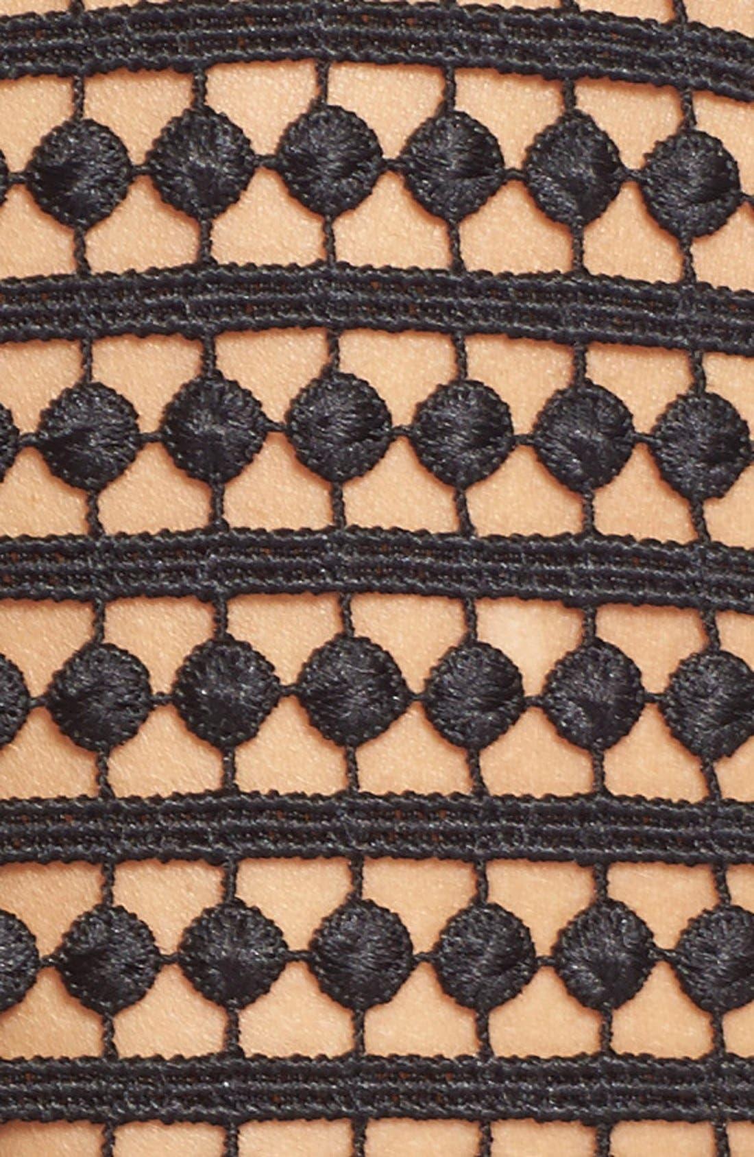 Alternate Image 5  - NICHOLAS Dot Lace Sheath Dress