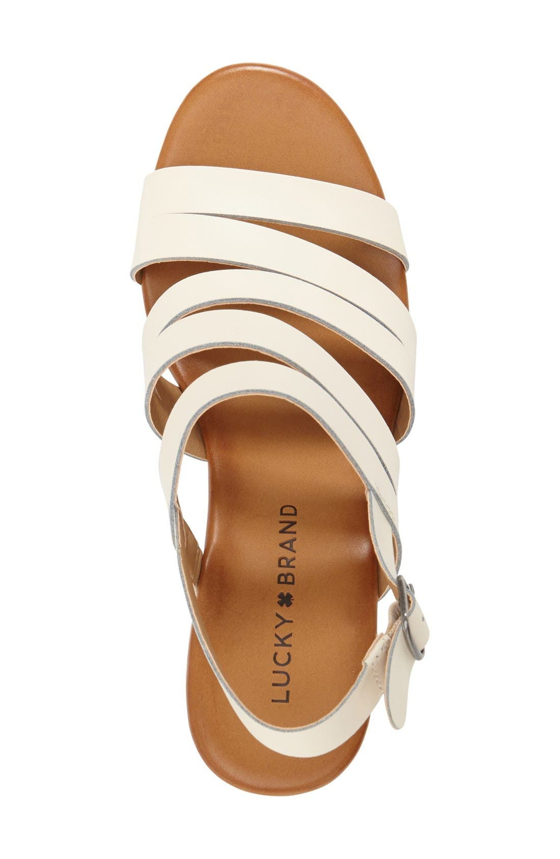 Alternate Image 3  - Lucky Brand 'Marinaa' Wedge Sandal (Women)