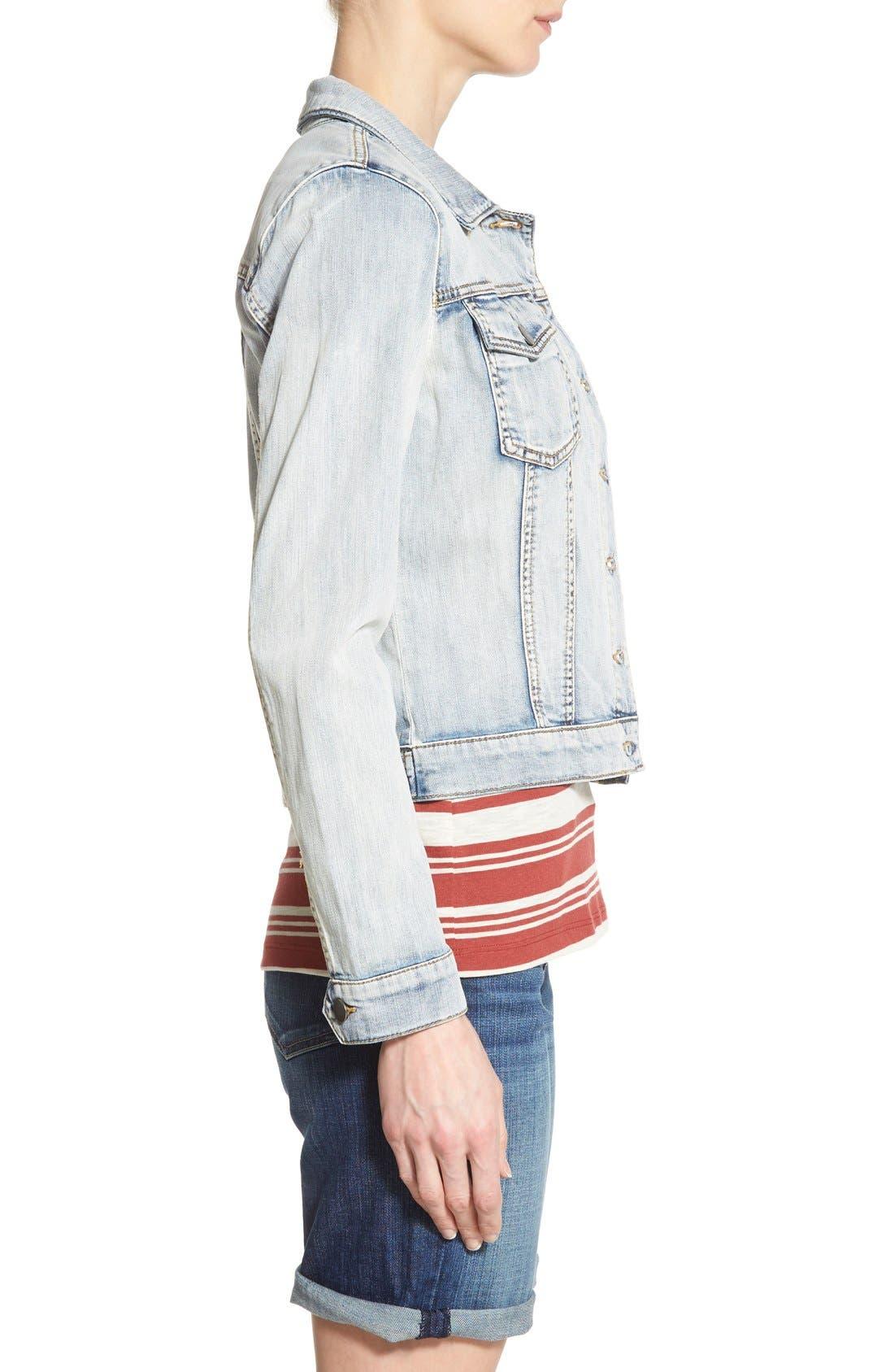 Alternate Image 3  - KUT from the Kloth 'Helena' Denim Jacket (Sweet)
