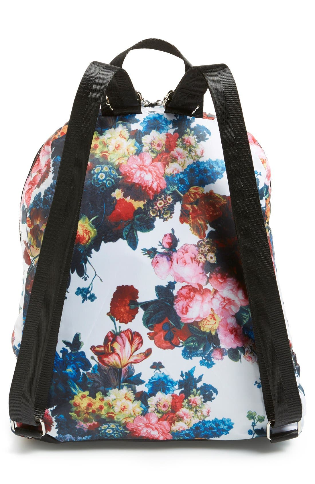Alternate Image 3  - Dolce Girl 'Dome' Floral Print Quilted Backpack
