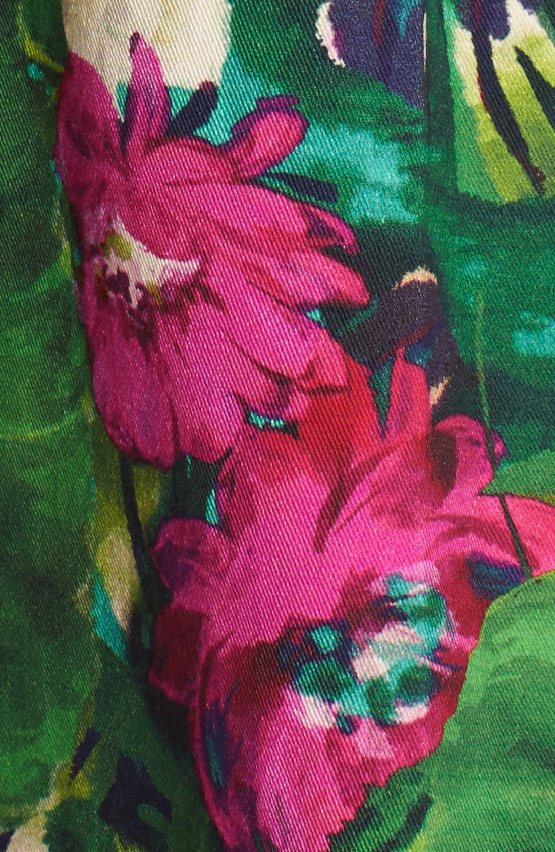 Alternate Image 6  - Felicity & Coco Floral Print Fit & Flare Dress (Regular & Petite) (Nordstrom Exclusive)