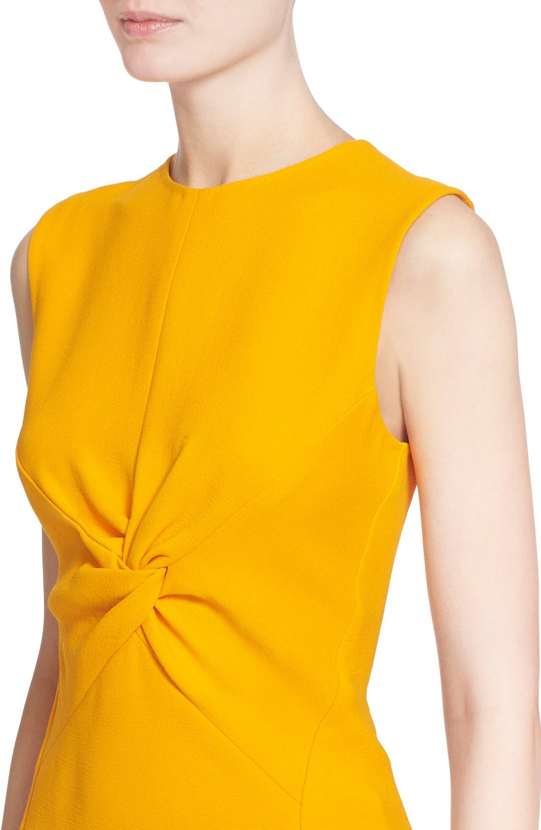 Alternate Image 6  - Narciso Rodriguez Twist Front Crepe Top