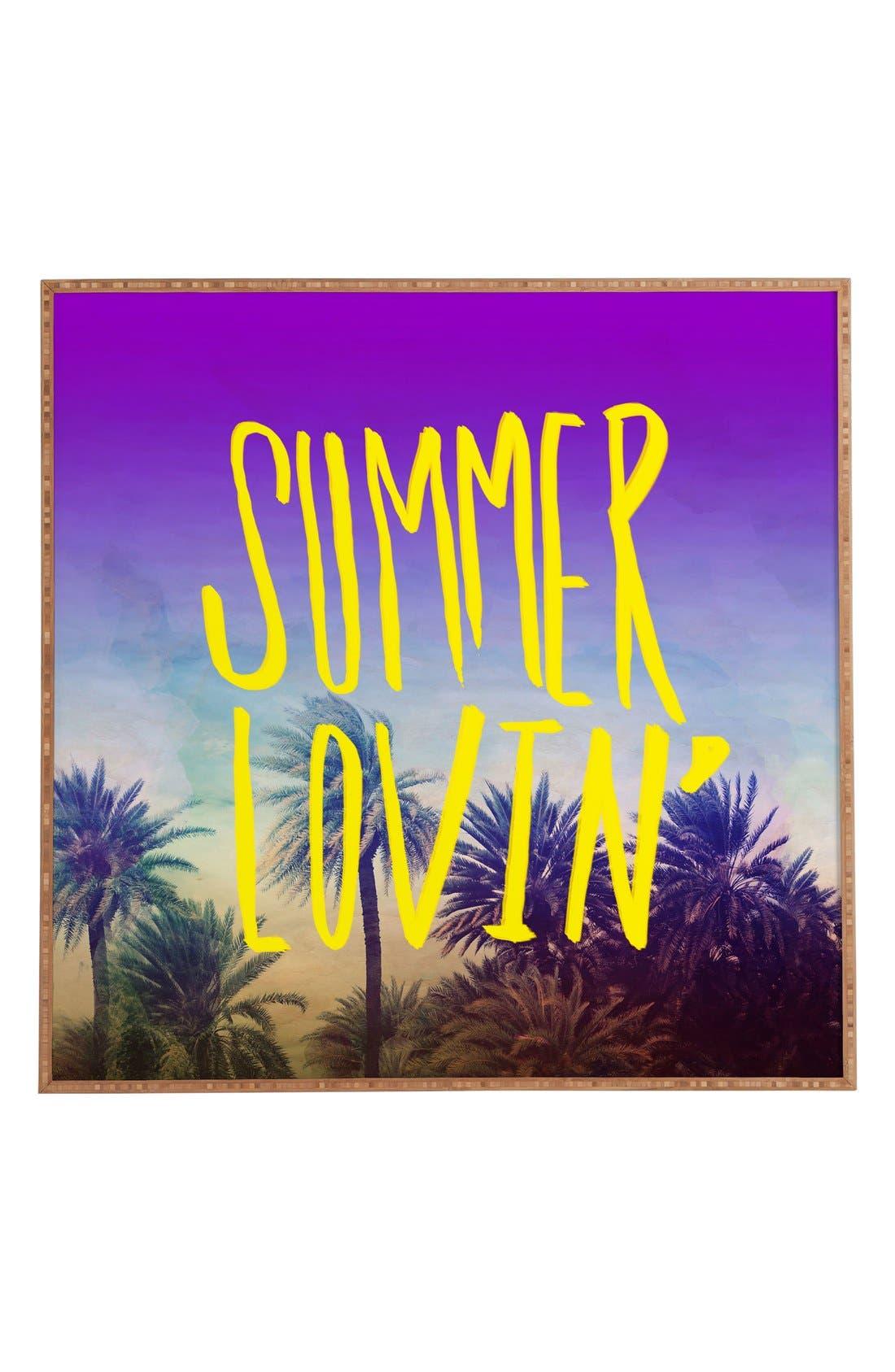 Alternate Image 1 Selected - DENY Designs 'Leah Flores - Summer Lovin' Wall Art