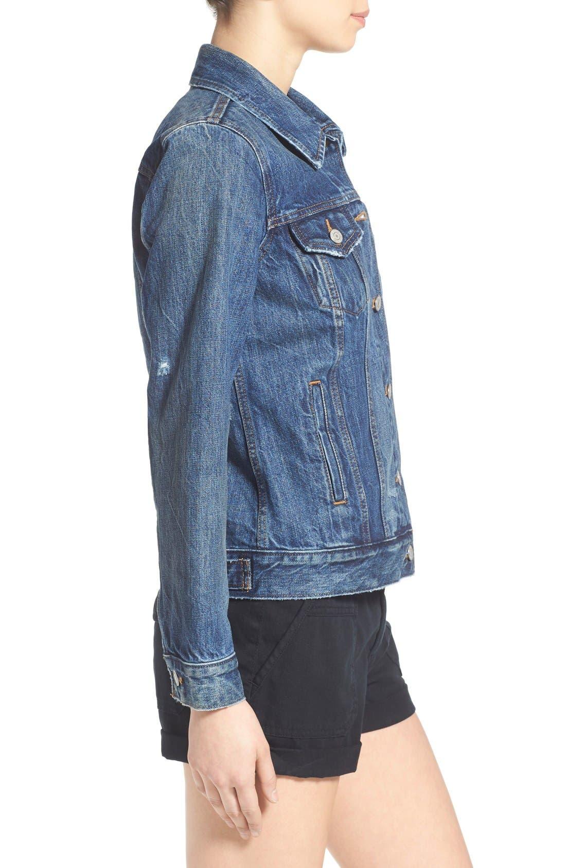Alternate Image 3  - Levi's® Denim Trucker Jacket