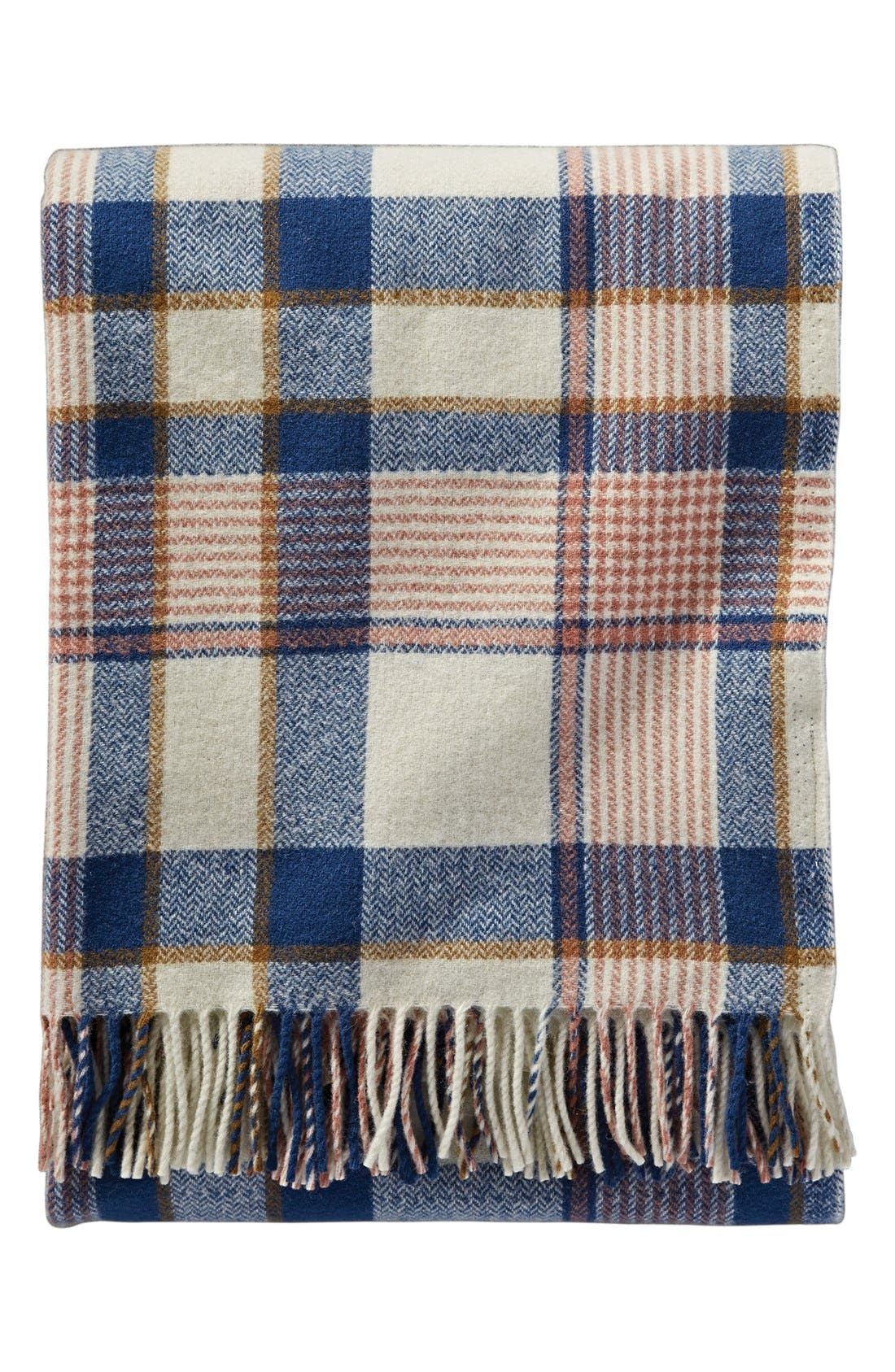 Main Image - Pendleton 'Hampshire Plaid' Throw Blanket & Carrier