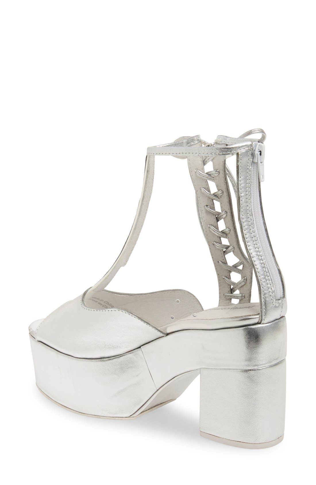 Alternate Image 2  - Jeffrey Campbell 'Capucine' Platform Bootie (Women)
