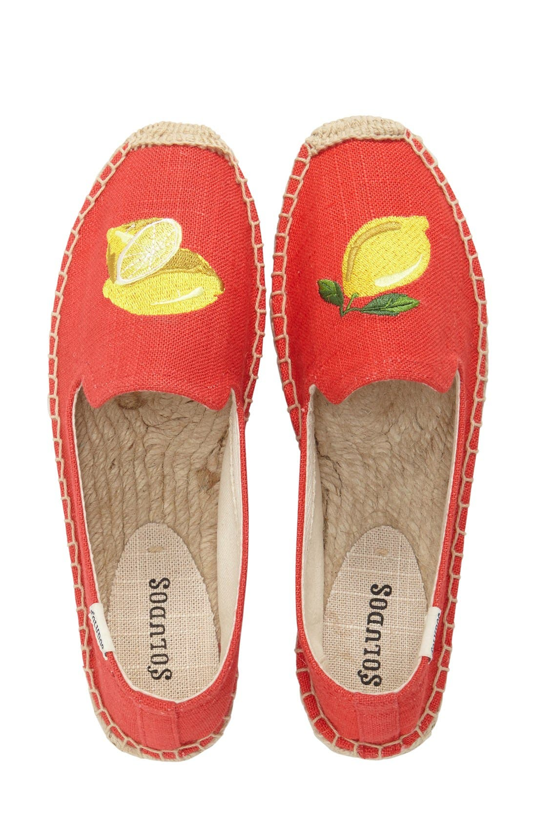 Alternate Image 3  - Soludos Embroidered Flat (Women)
