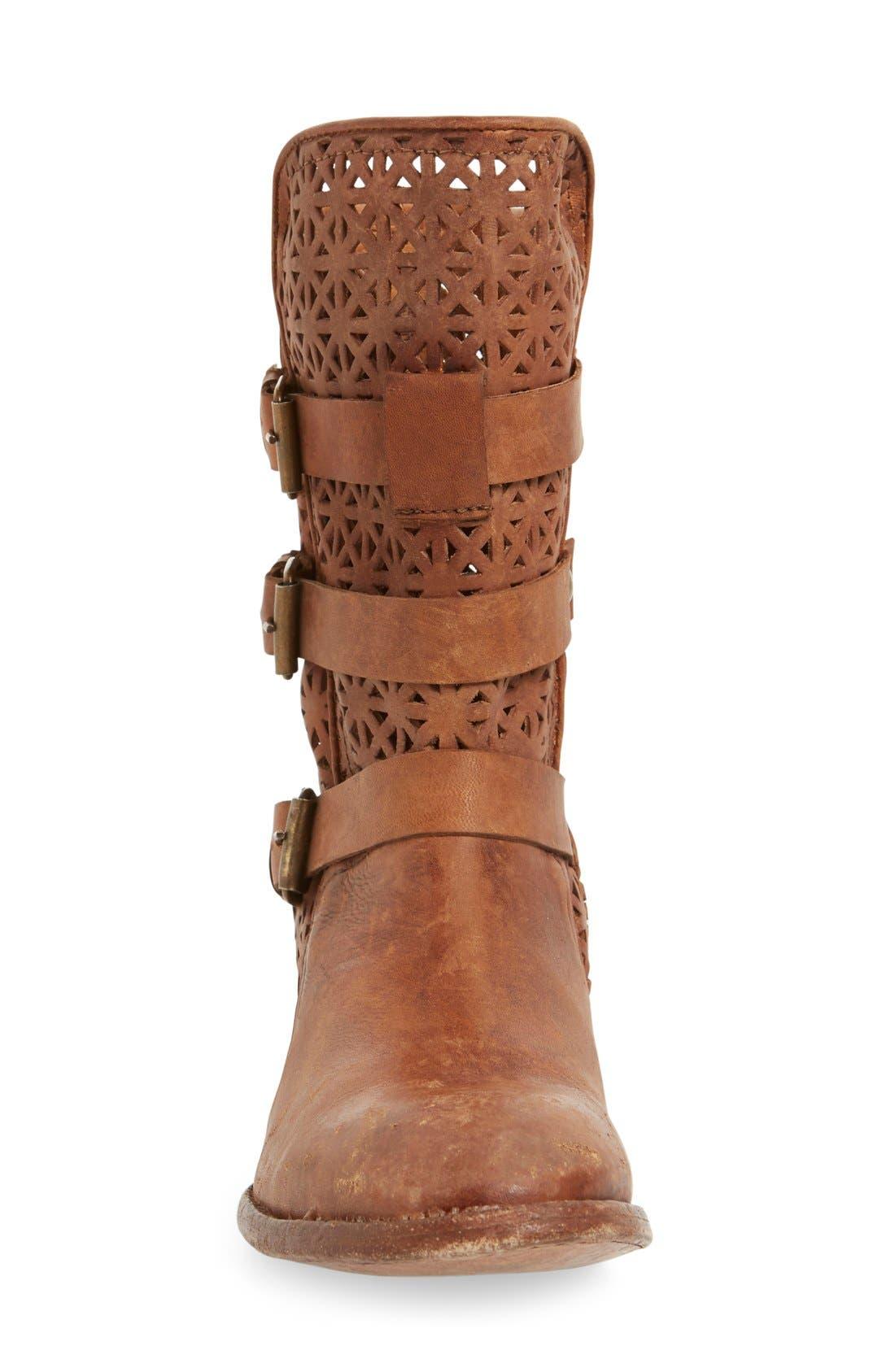 Alternate Image 3  - Matisse 'National' Perforated Moto Boot (Women)