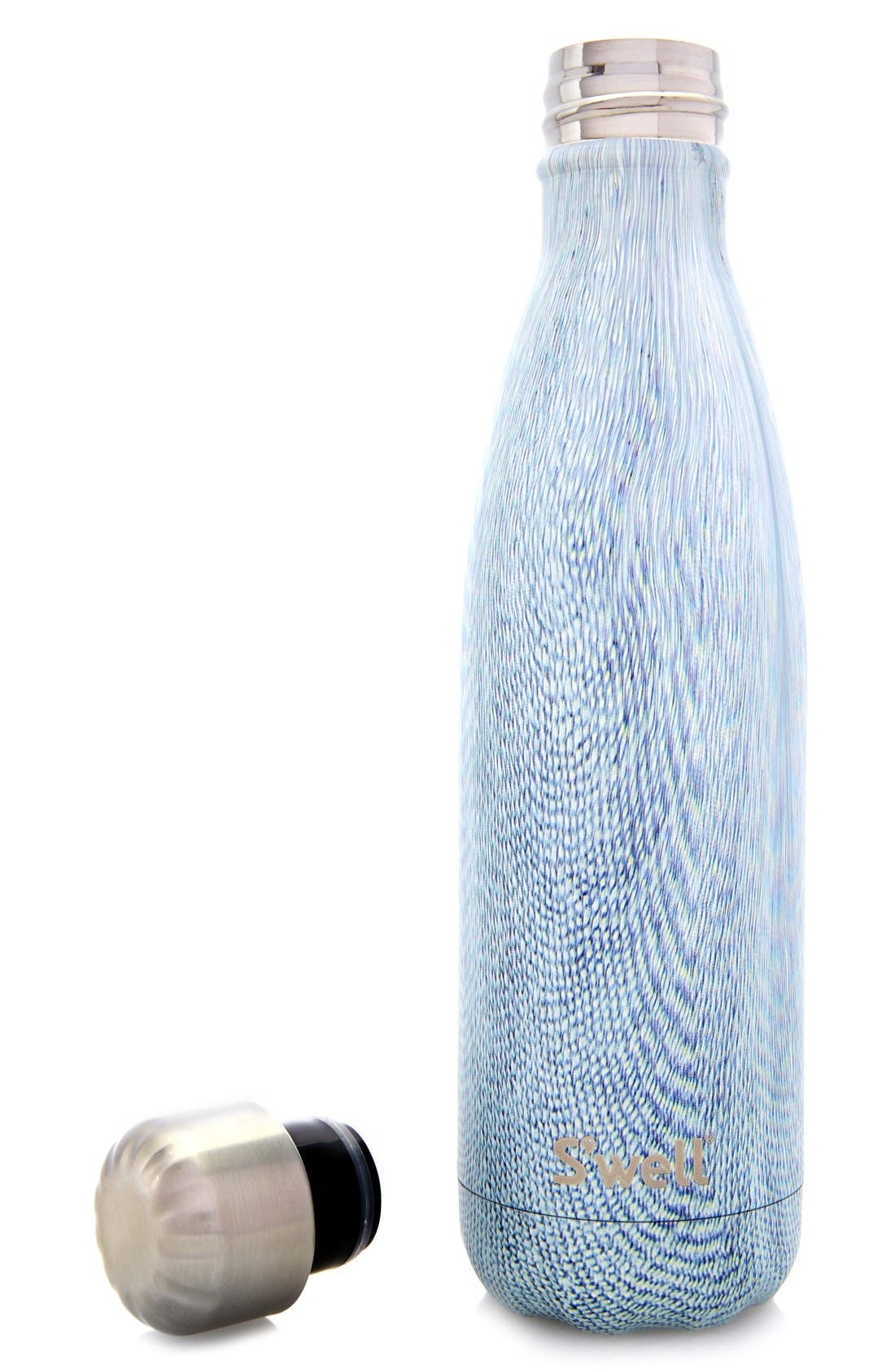 Alternate Image 5  - S'well 'Textile Collection - Blue Jean' Stainless Steel Water Bottle