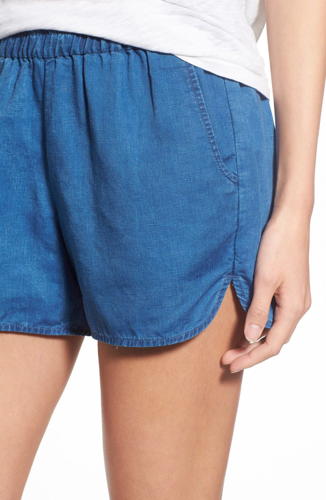 Alternate Image 4  - Madewell Linen & Cotton Pull-On Shorts