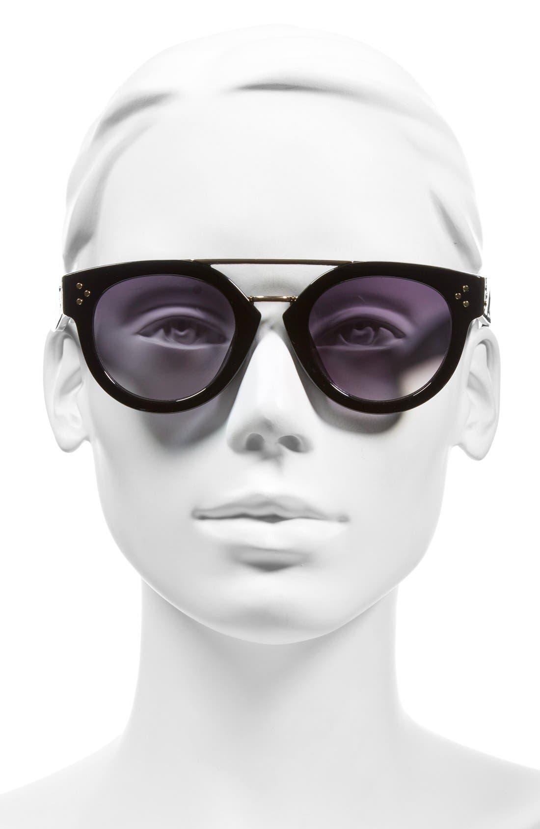 Alternate Image 2  - Fantas Eyes 50mm Retro Sunglasses