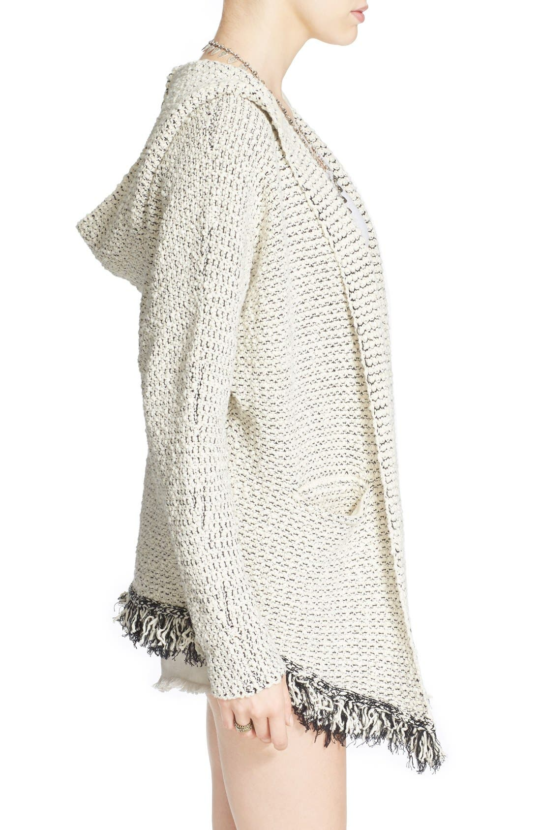Alternate Image 3  - Free People 'Love Me Tender' Fringe Cardigan