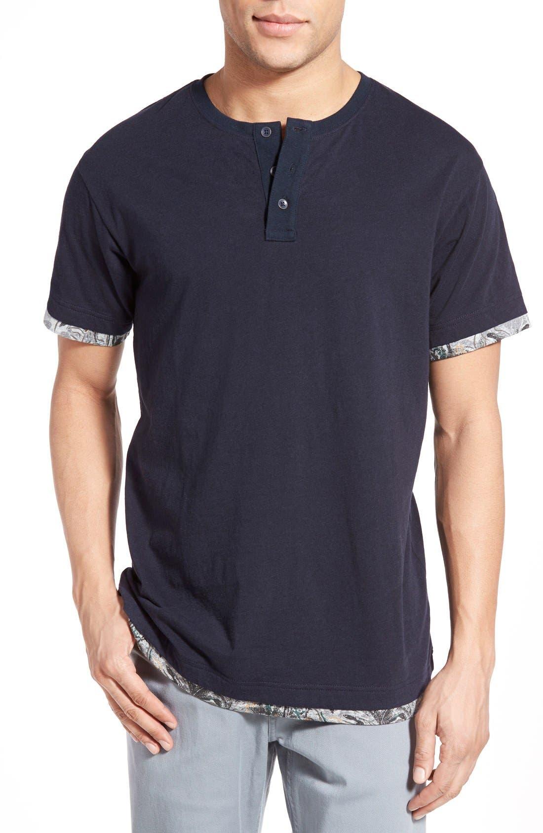 RODD & GUNN 'Finlayson' Short Sleeve Henley T-Shirt
