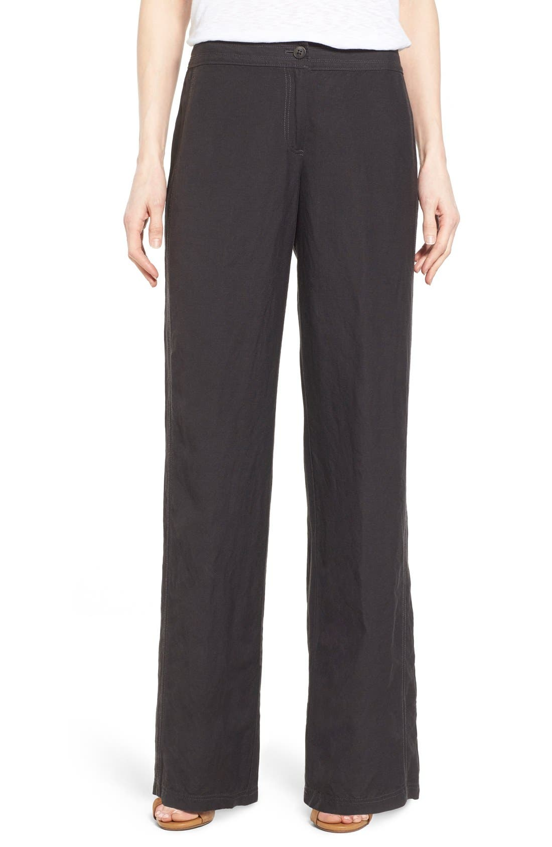 NIC+ZOE 'Easy' Linen Blend Wide Leg Pants