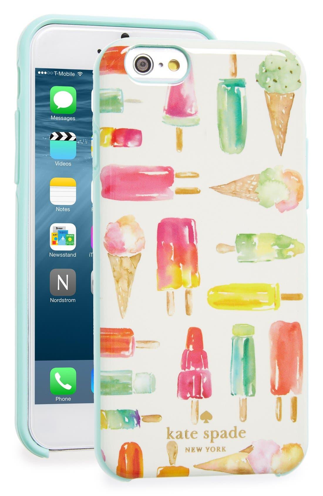 Main Image - kate spade new york 'ice pop' iPhone 6 & 6s case