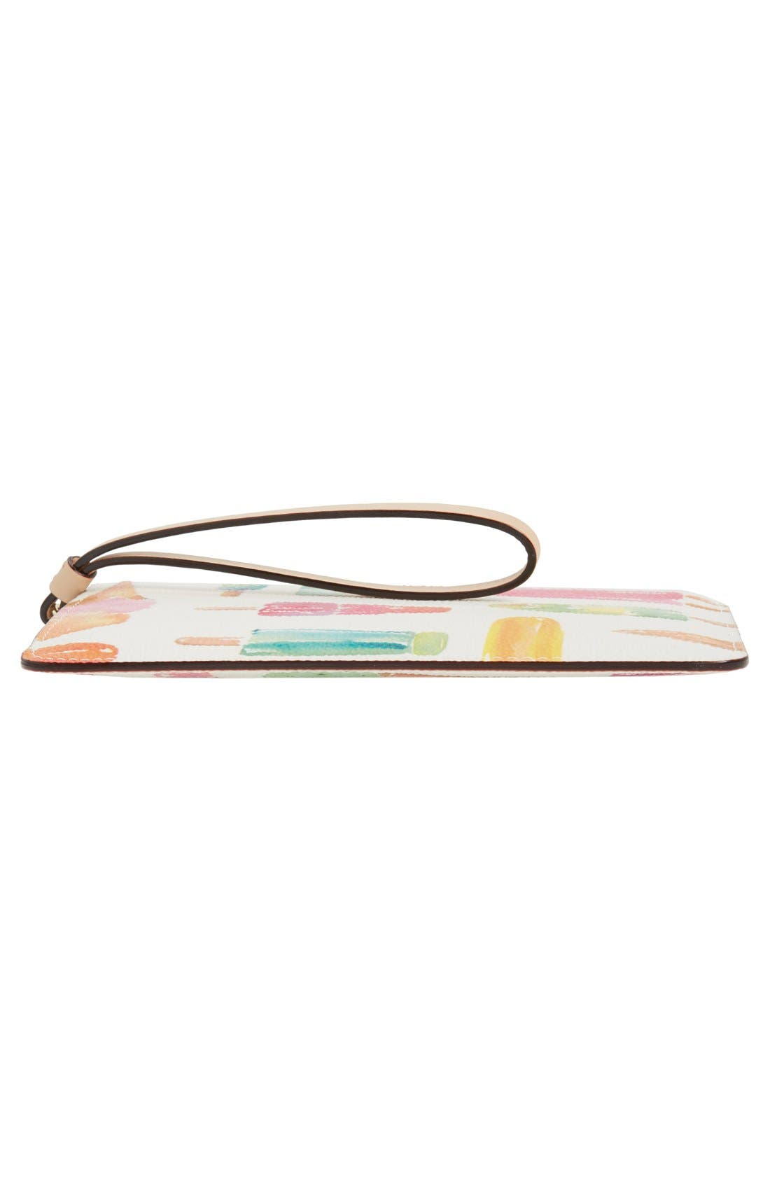 Alternate Image 6  - kate spade new york 'cedar street - slim bee' ice pop print wristlet