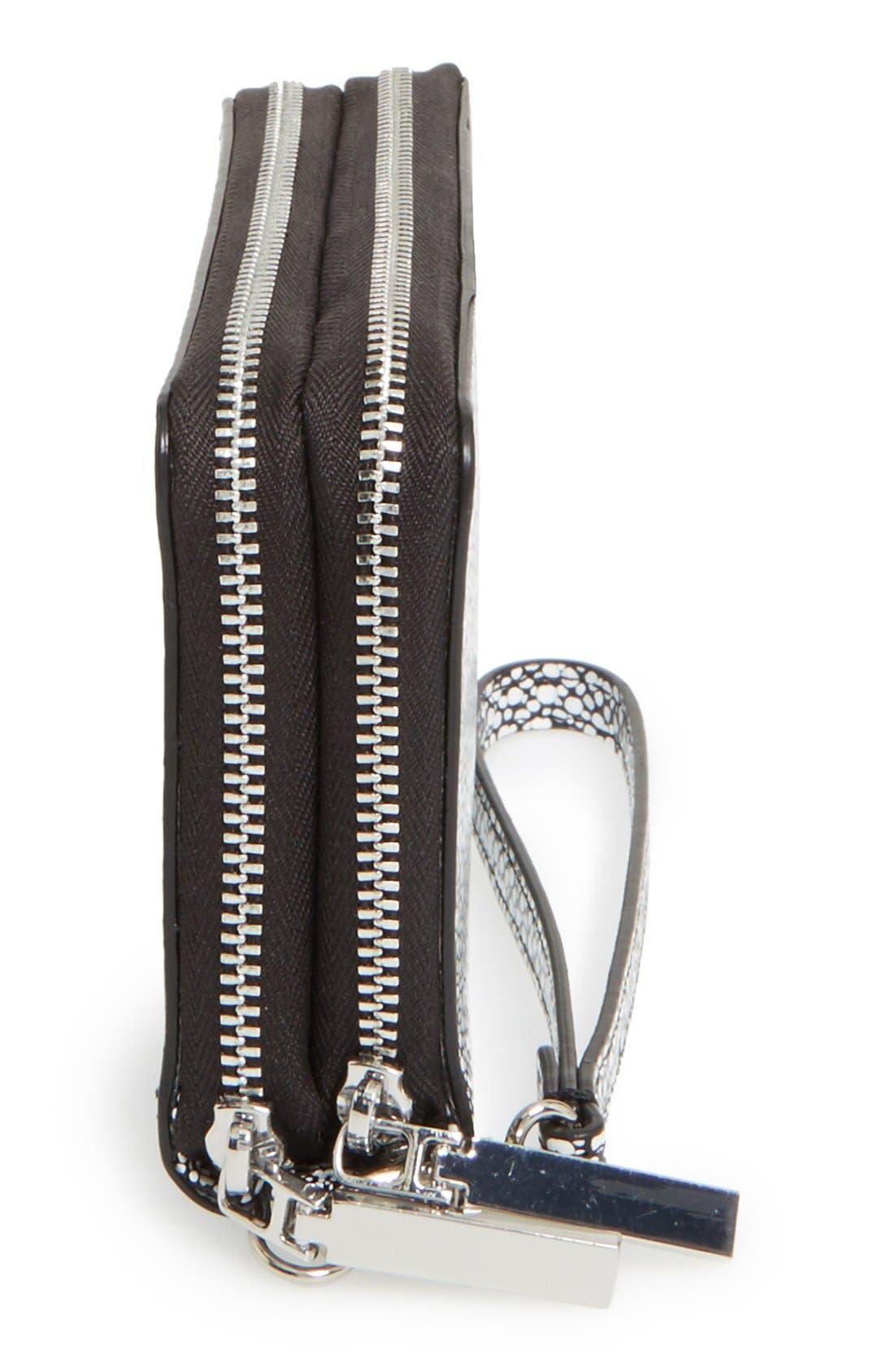 Alternate Image 5  - Halogen® 'Cassie' Double Zip Wristlet