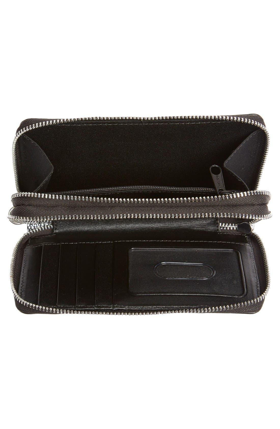 Alternate Image 2  - Halogen® 'Cassie' Double Zip Wristlet