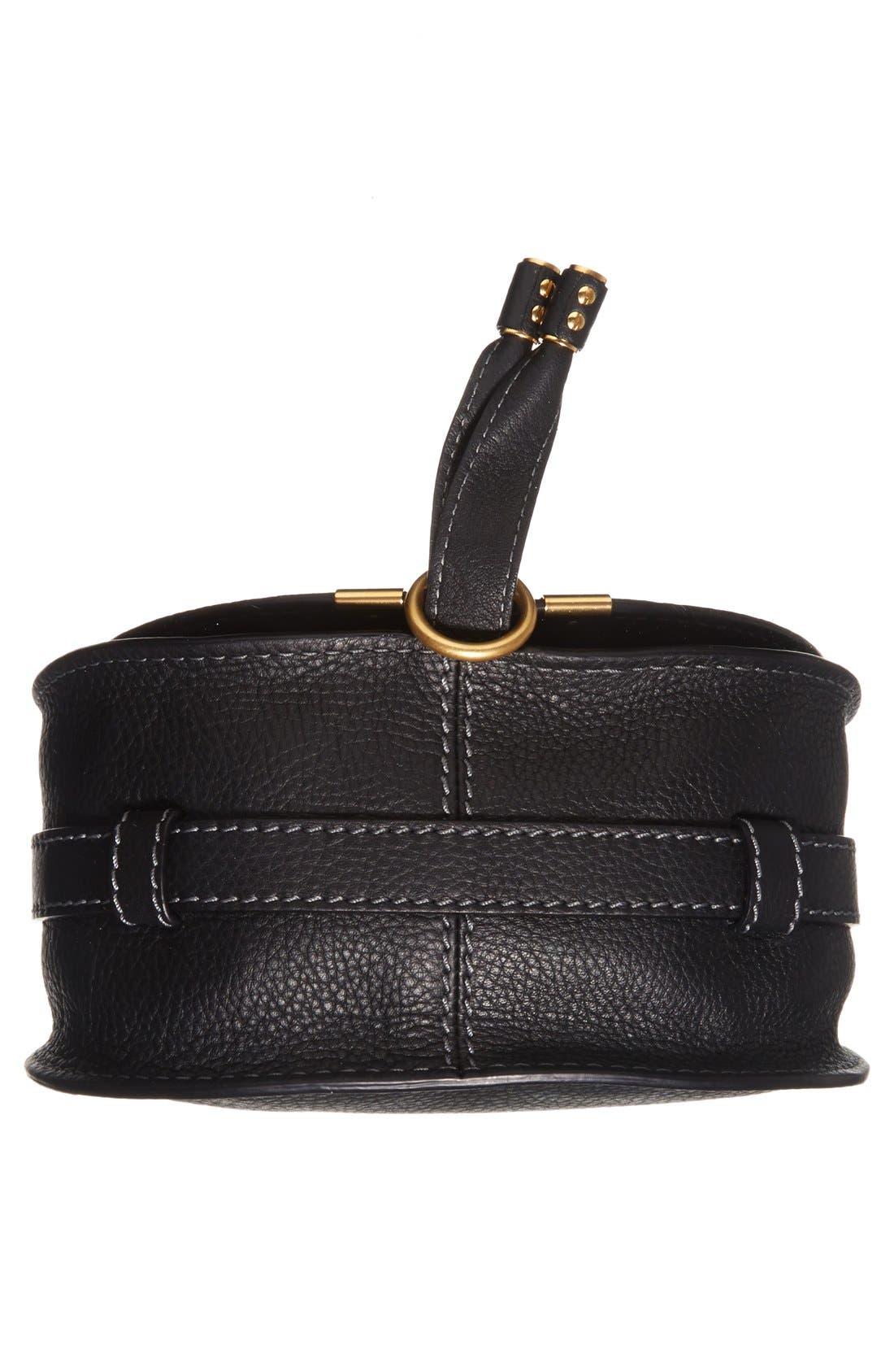 Alternate Image 6  - Chloé 'Mini Marcie' Leather Crossbody Bag