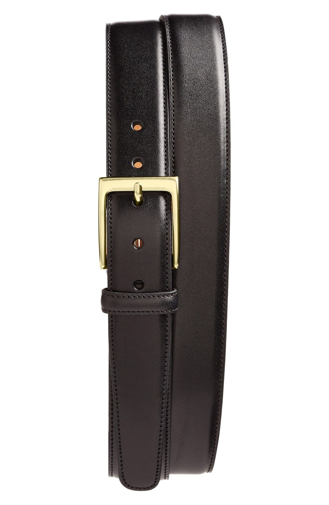 Main Image - Trafalgar 'Cortina' Leather Belt
