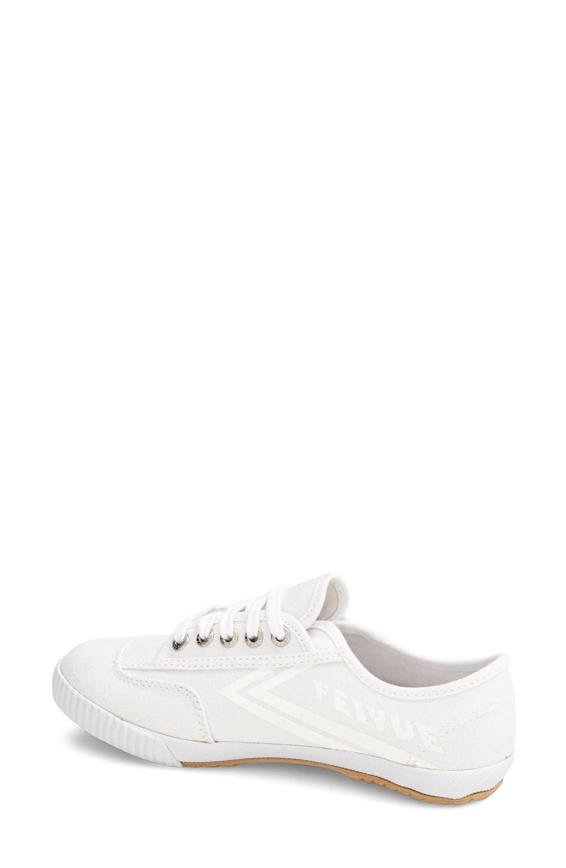 Alternate Image 2  - Feiyue. 'Fe Lo Plain' Canvas Sneaker (Women)