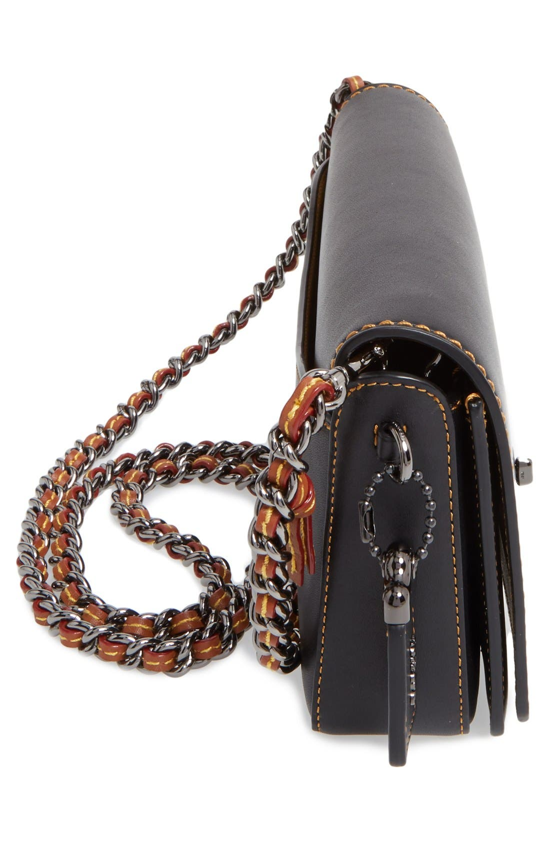 Alternate Image 5  - COACH 1941 'Dinky' Leather Crossbody Bag