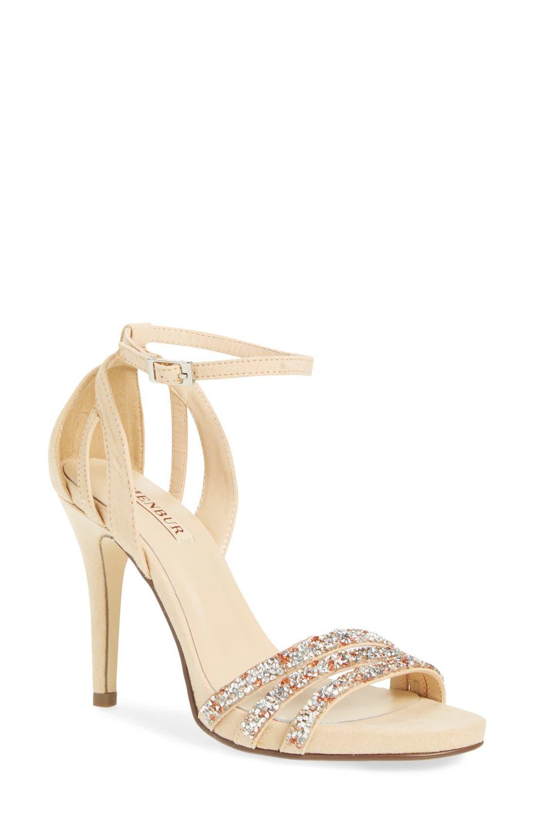 Main Image - Menbur 'Pensamiento' Ankle Strap Sandal (Women)