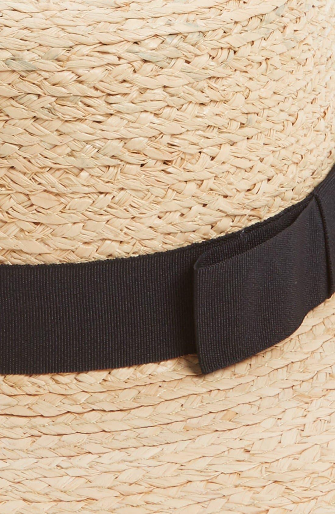 Alternate Image 2  - Sole Society Floppy Straw Hat