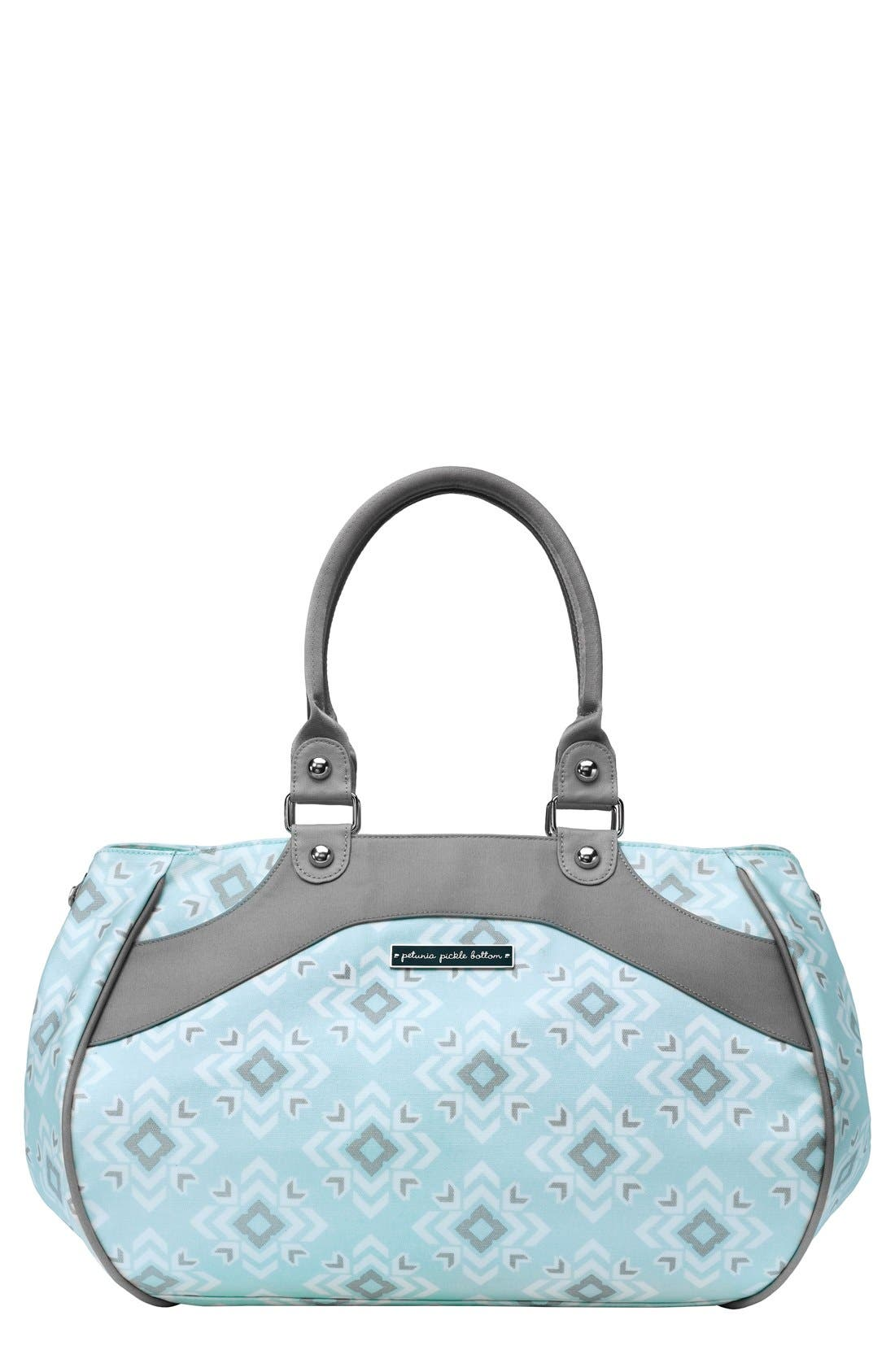 Petunia Pickle Bottom 'Wistful Weekend' Glazed Cotton Diaper Bag