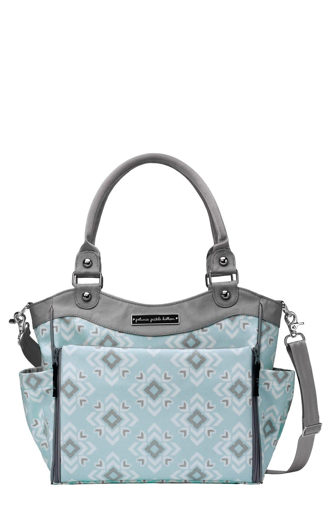 PETUNIA PICKLE BOTTOM 'City Carryall' Diaper Bag