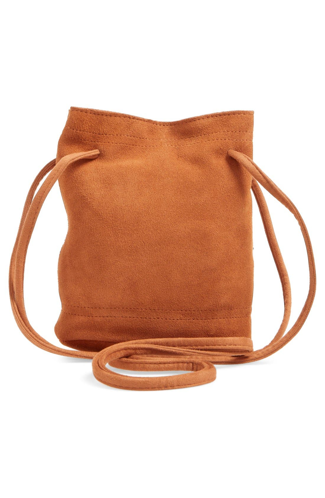 Alternate Image 3  - Street Level Suede Crossbody Bag