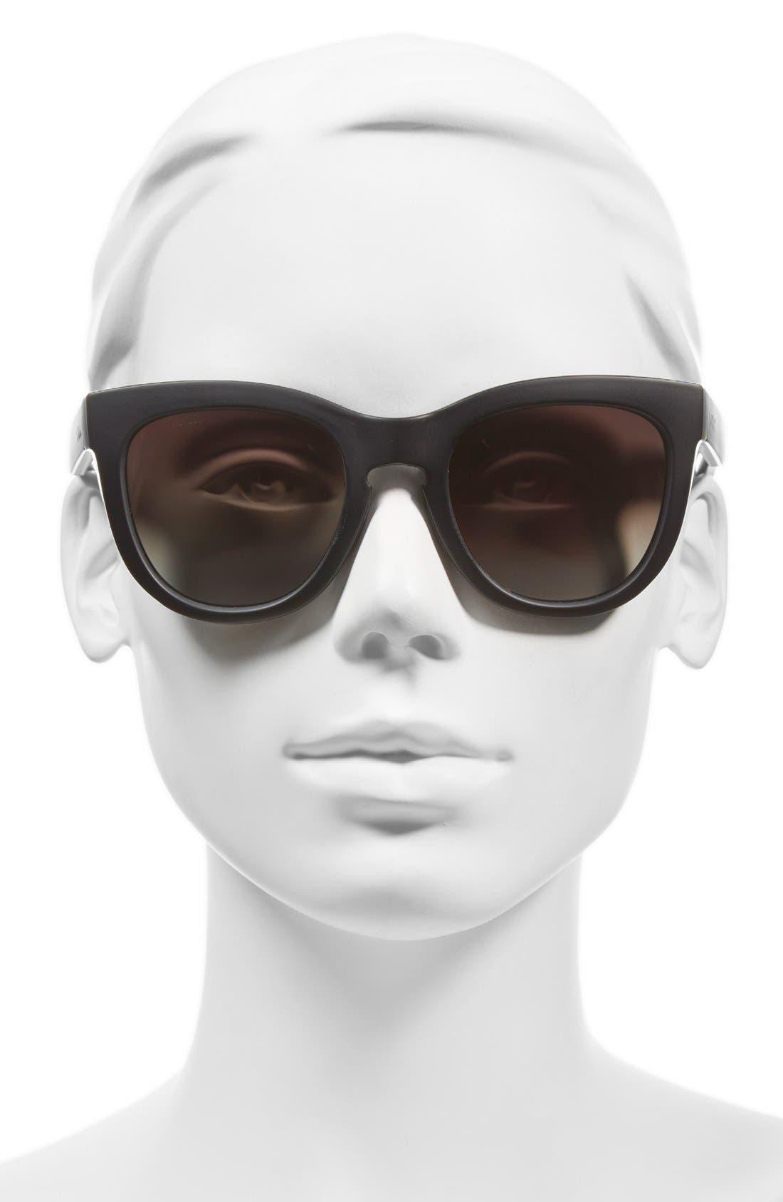 Alternate Image 2  - Smith 'Sidney' 55mm Polarized Cat Eye Sunglasses