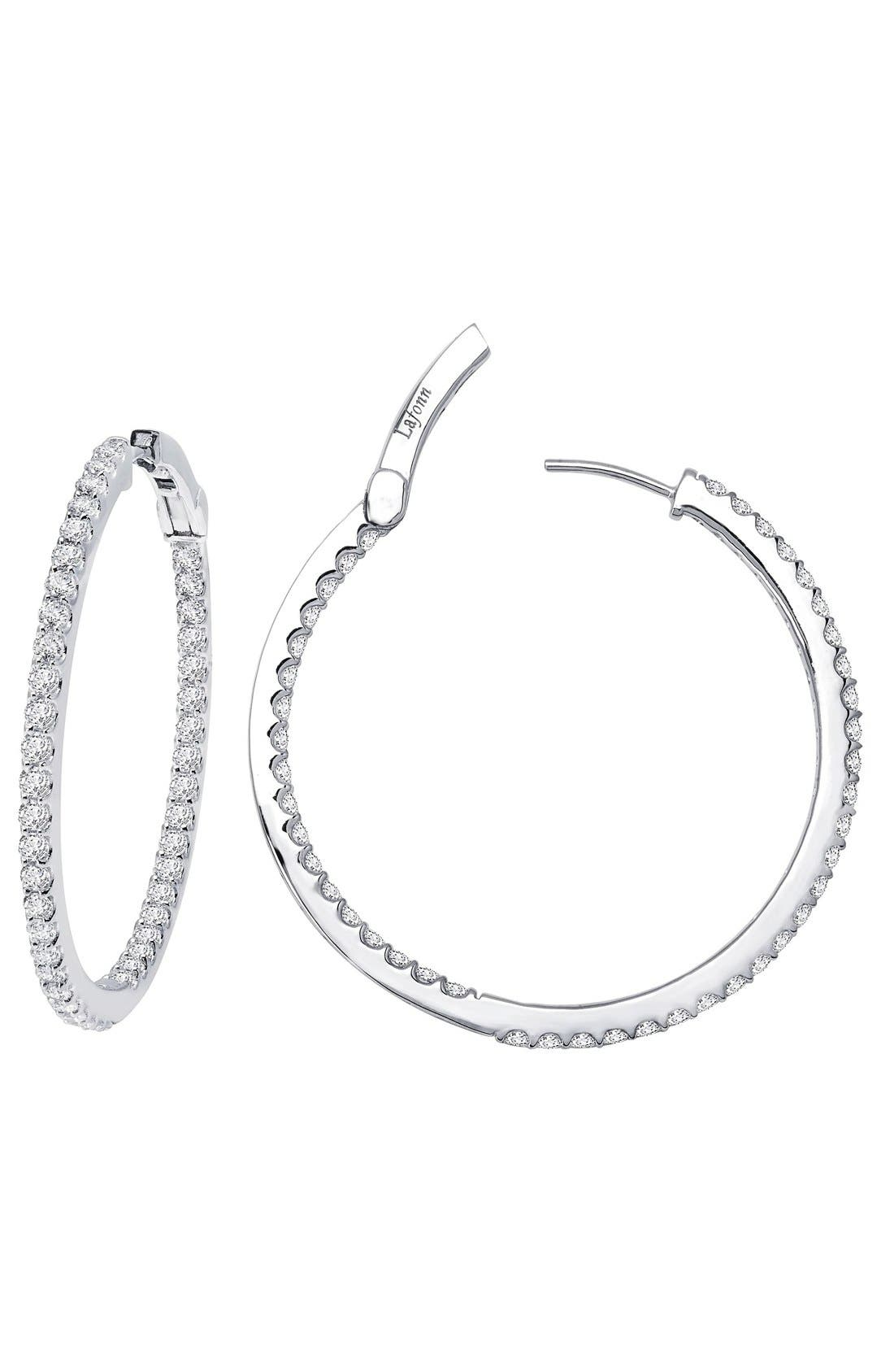 Lafonn 'Lassaire' Hoop Earrings