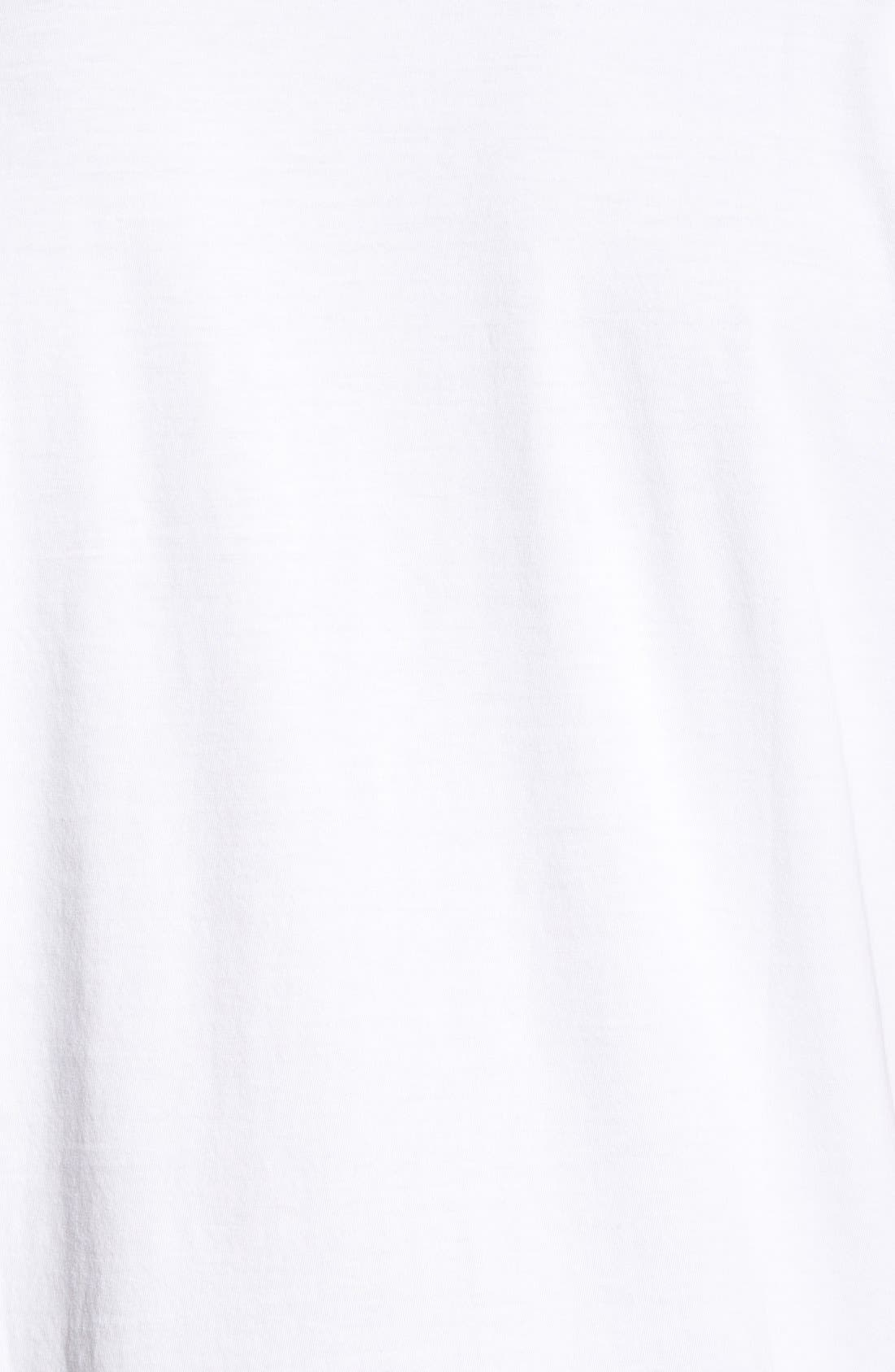 Alternate Image 5  - Psycho Bunny Classic Pima Cotton V-Neck T-Shirt