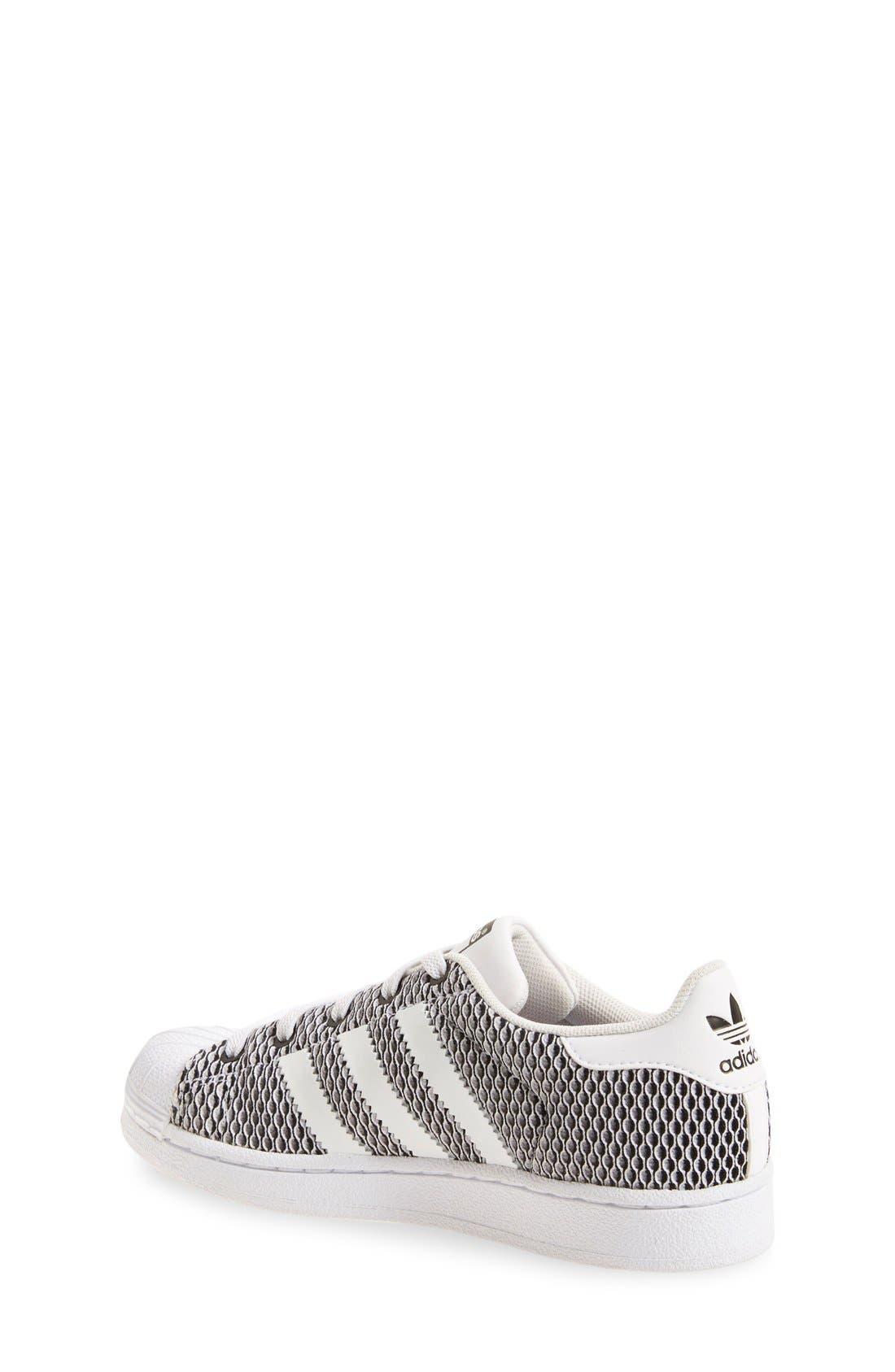 Alternate Image 2  - adidas 'Superstar - Color Shift' Sneaker (Baby, Walker, Toddler, Little Kid & Big Kid)